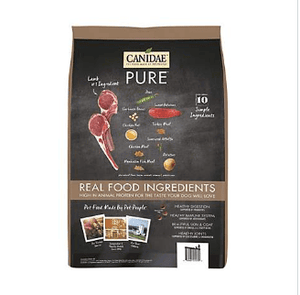 CANIDAE PURE Real Lamb & Pea Recipe Dry Dog Food, 4 lbs. - iPupnStuff.com
