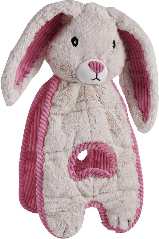 Cuddle Tugs Blushing Bunny Dog Toy