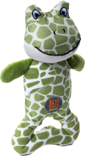 Patches Pattern Frog Dog Toy - iPupnStuff.com