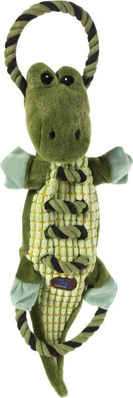 Ropes-a-go Go Gator Dog Toy - iPupnStuff.com