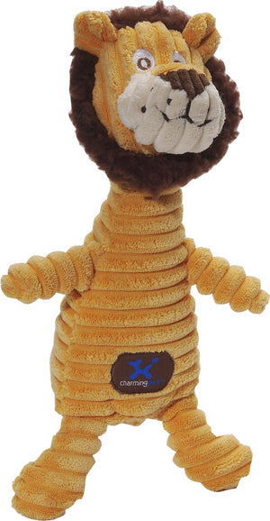 Squeakin' Squiggles Lion Dog Toy - iPupnStuff.com