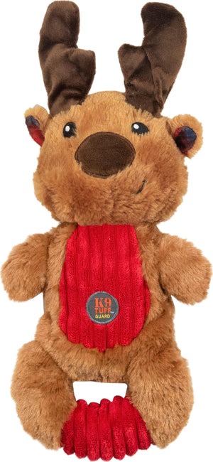 Squeeze 'ems Reinder Plush Holiday Dog Toy