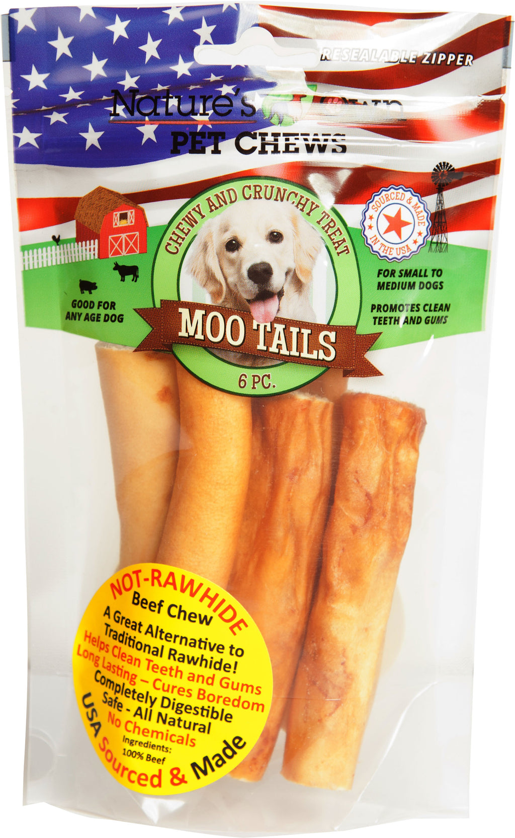 Nature's Own Moo Tails Dog Chew