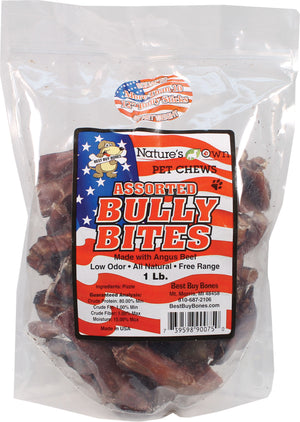 Nature's Own Assorted Bully Bites Dog Chew