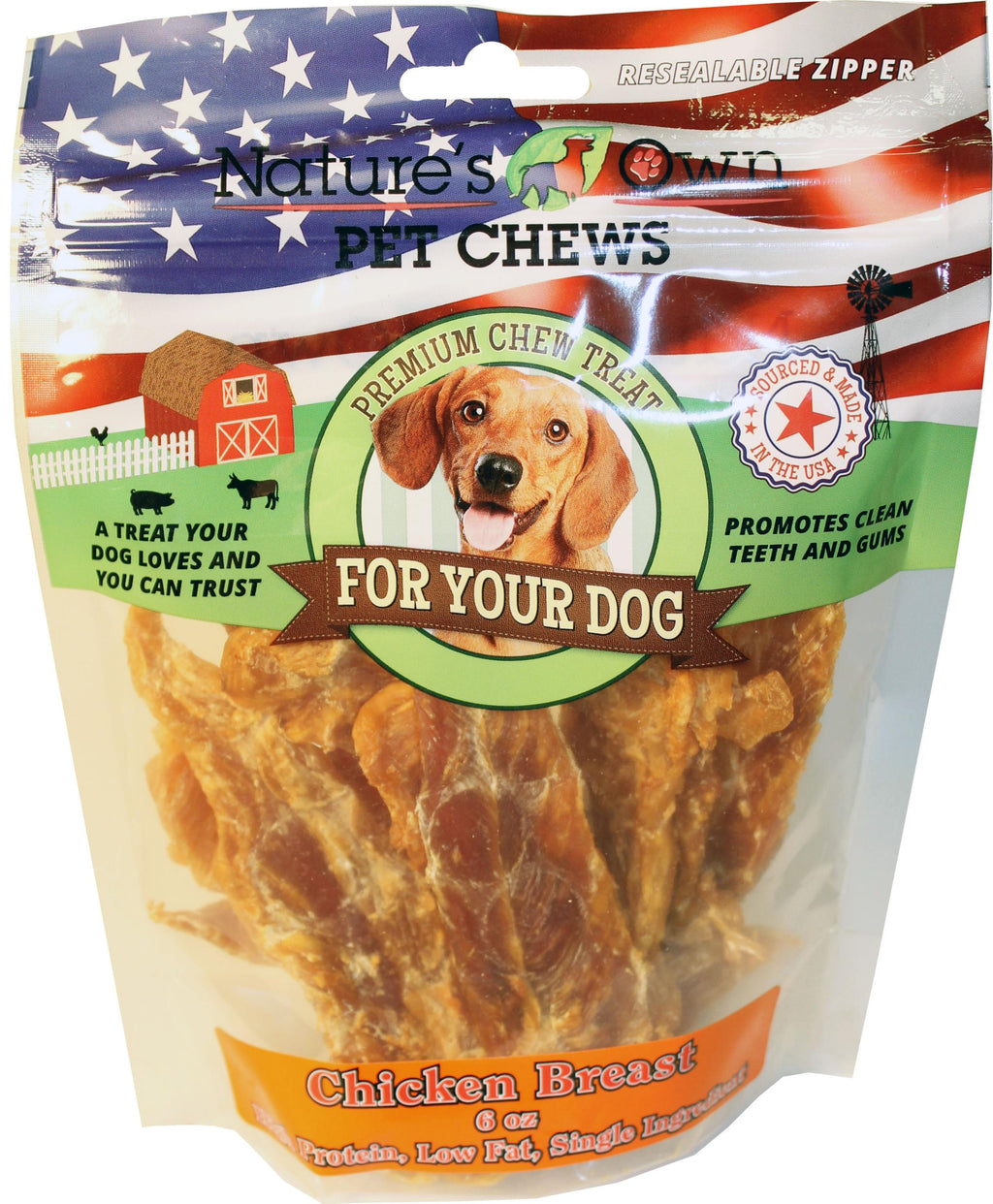 Usa Chicken Breast Natural Chew Treats
