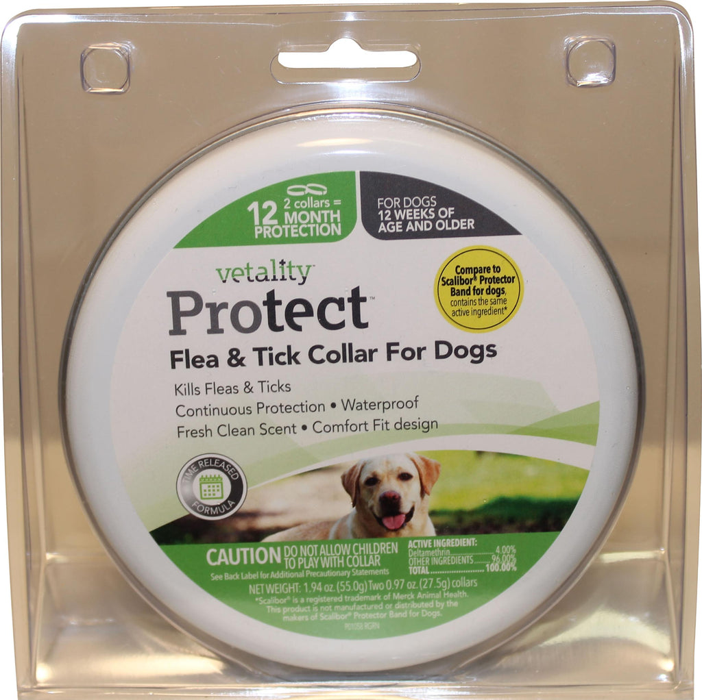 Vetality Protect Flea & Tick Dog Collar