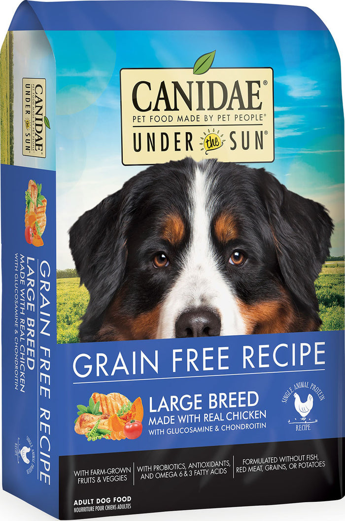 Under The Sun Grain Free Large Breed Dry Dog Food