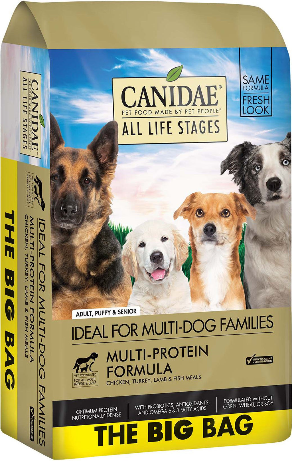 CANIDAE All Life Stages Chicken, Turkey, Lamb & Fish Meals Formula Dry Dog Food, 44 lbs. - iPupnStuff.com