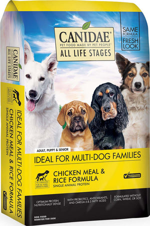 CANIDAE All Life Stages Chicken Meal & Rice Formula Dry Dog Food, 30 lbs. - iPupnStuff.com