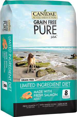 CANIDAE PURE Real Salmon & Sweet Potato Recipe Dry Dog Food, 12 lbs. - iPupnStuff.com