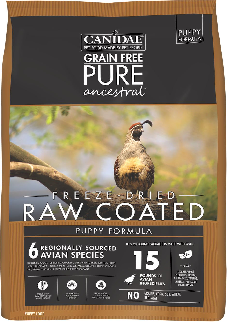 Canidae Pure Ancestral Raw Coated Dry Dog Food - iPupnStuff.com