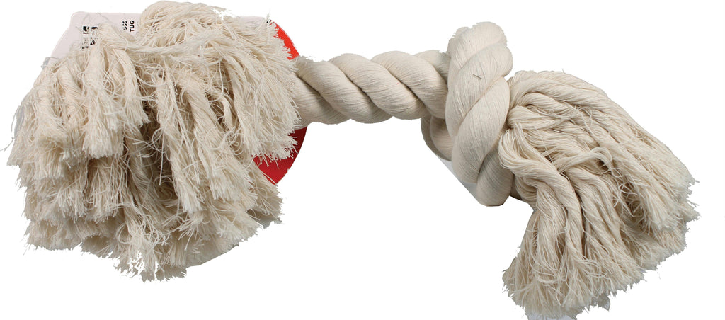 Flossy Chews Cotton Rope Bone Dog Toy - iPupnStuff.com