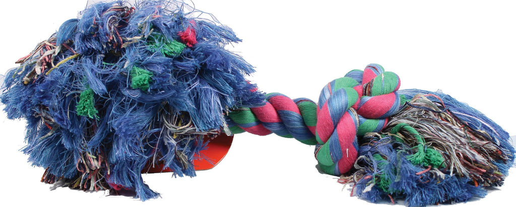 Flossy Chews Color Rope Bone Dog Toy - iPupnStuff.com