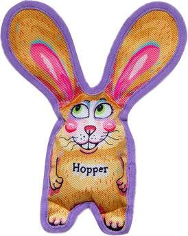 Hopper All Ears Tough & Crackly Dog Toy