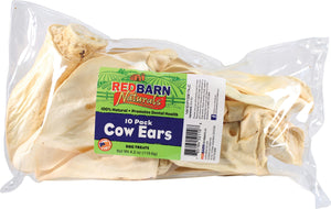Naturals Cow Ears Dog Treats 10 pack