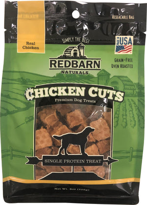 Redbarn Naturals Cuts Premium Dog Treat 8 Oz Chicken - iPupnStuff.com