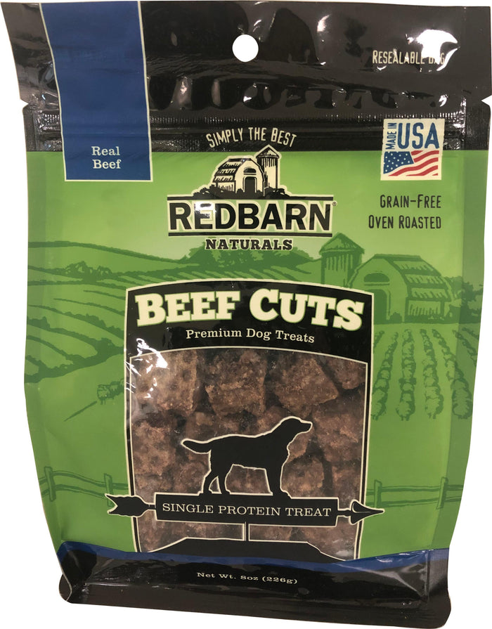Redbarn Naturals Cuts Premium Dog Treat 8 Oz
