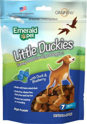 Smart N Tasty Little Duckies Dog Treats 5 Oz - iPupnStuff.com