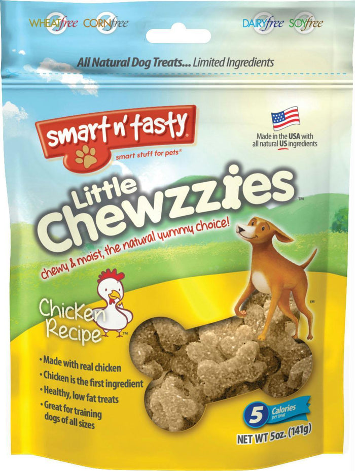 Emerald Pet Little Chewzzies Dog Treats for Small and Large Dogs Chicken