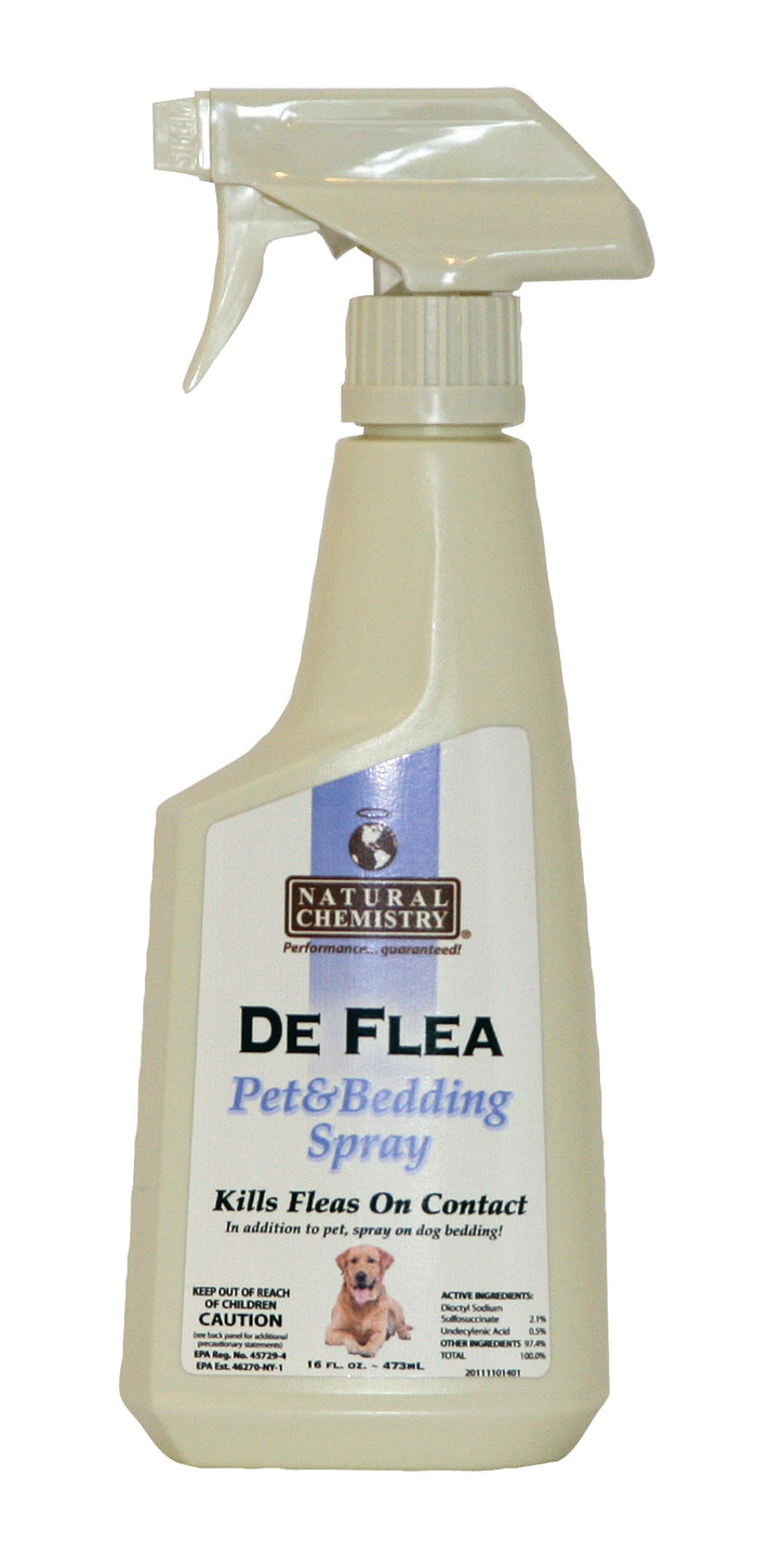De Flea Pet & Bedding Spray