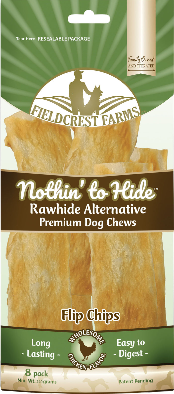 Nothin' To Hide Rawhide Alternative Flip Chips