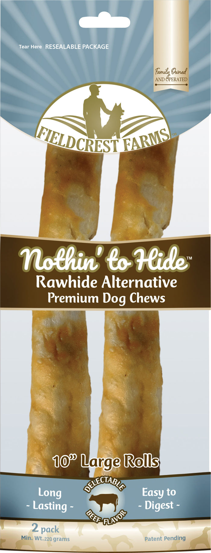 Nothin' To Hide Rawhide Alternative Large Roll
