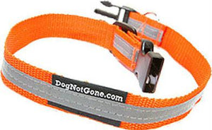 "Reflective Dog Collar 1.5"" x 10"""
