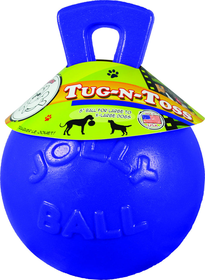 Tug-n-toss Ball Dog Toy