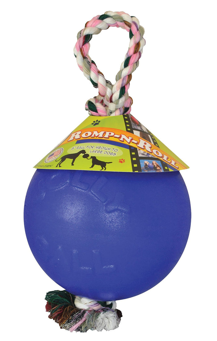 Romp-n-roll Ball Dog Toy
