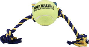 Mega Tuff Ball Tug Dog Toy - iPupnStuff.com