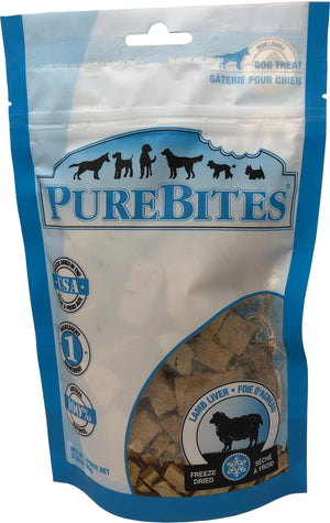 PureBites Lamb Freeze-Dried Treats for Dogs 3.35 Oz - iPupnStuff.com