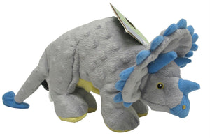 Dinos Frills The Triceratops Dog Toy - iPupnStuff.com
