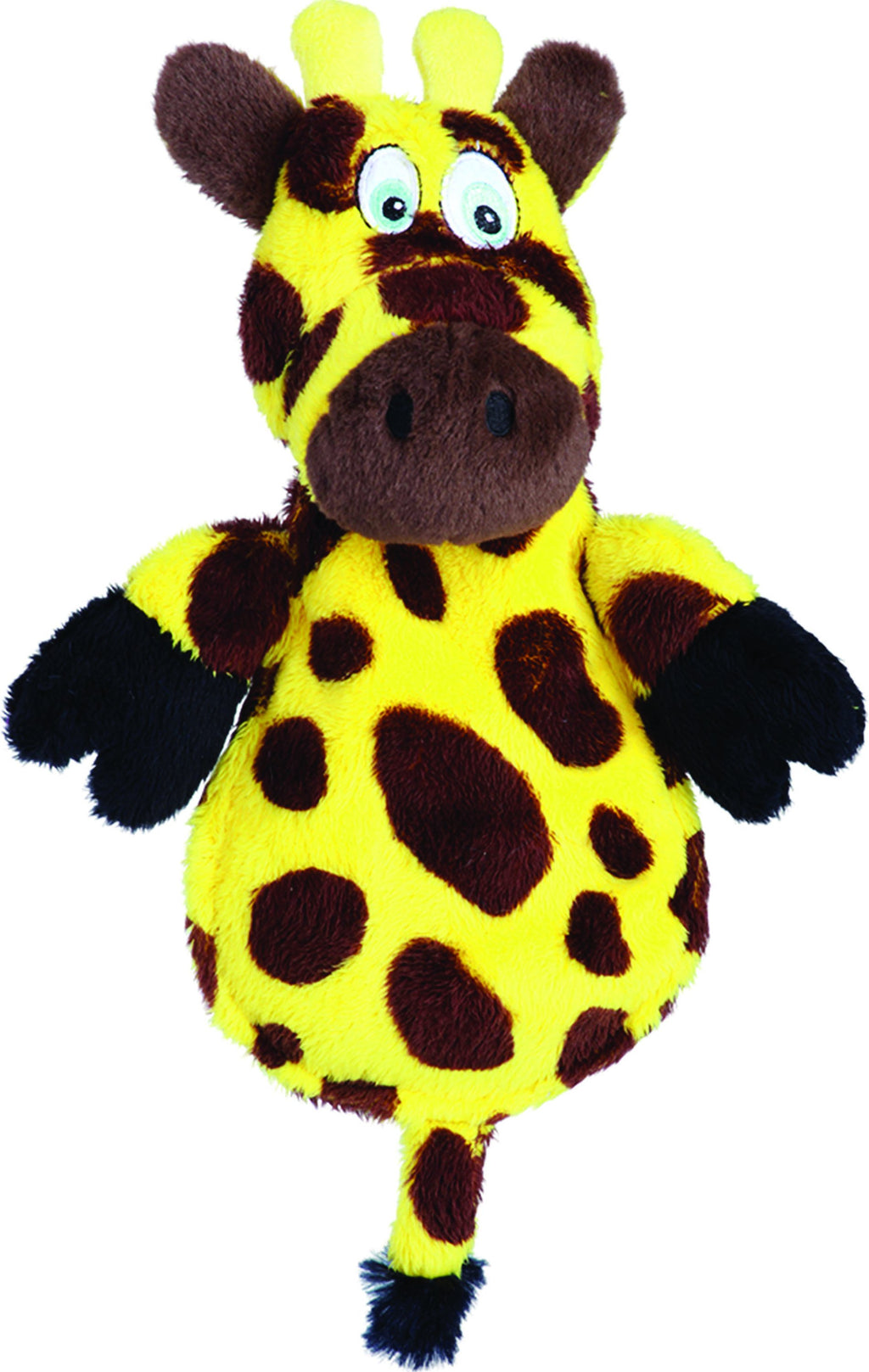 Hear Doggy Flattie Giraffe Ultrasonic Dog Toy - iPupnStuff.com