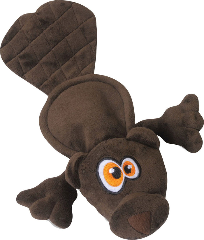 Hear Doggy Flattie Beaver Ultrasonic Dog Toy