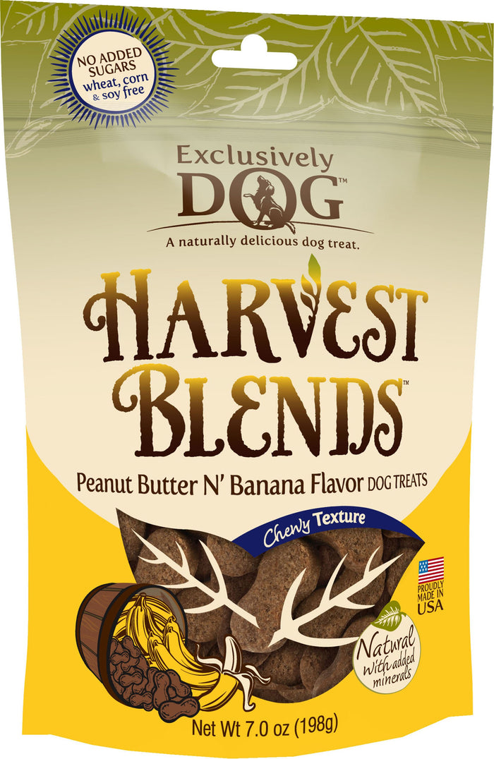 Exclusively Pet Harvest Blends Dog Treats, 7-Ounce