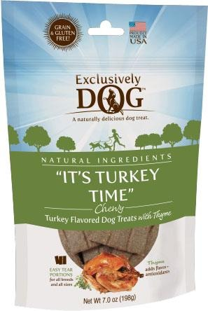 It's Turkey Time Chewy Treats - iPupnStuff.com