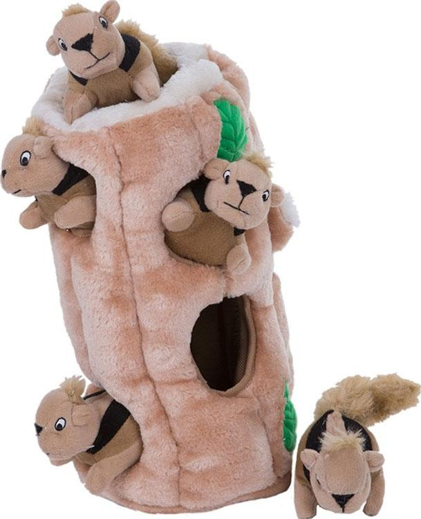 Hide-a-squirrel Mental Play Dog Toy - iPupnStuff.com