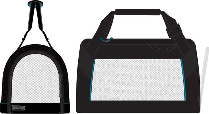 Pet Tour Carrier With Mesh Sides