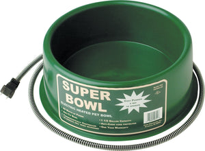 Heated Round Pet Bowl
