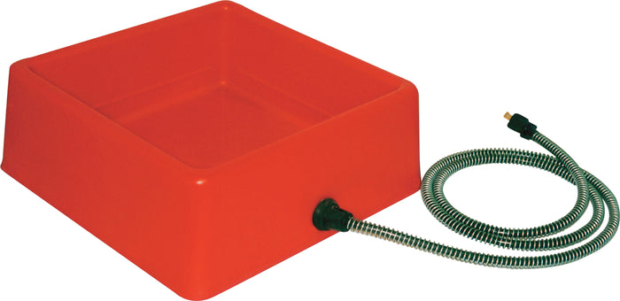 Heated Square Pet Bowl