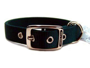 Double Thick Nylon Dog Collar 1x20 In - iPupnStuff.com