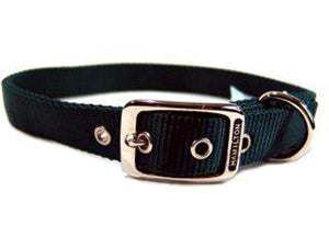 Double Thick Nylon Dog Collar 1x28 In - iPupnStuff.com
