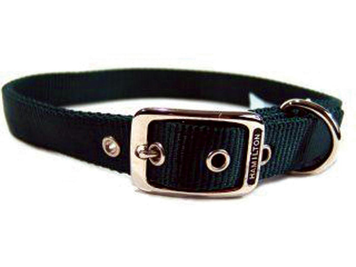 Double Thick Nylon Dog Collar 1x28 In