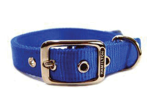 Double Thick Nylon Dog Collar 1x22 In - iPupnStuff.com