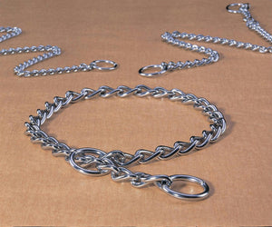 Medium Choke Chain Dog Collar - iPupnStuff.com
