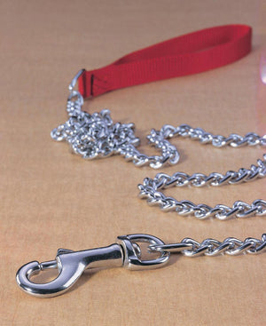 Steel Chain Lead With Nylon Handle