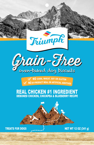 Triumph Grain Free Dog Biscuits