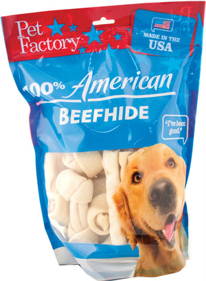 Usa Beefhide Bones & Rolls Value Pack - iPupnStuff.com