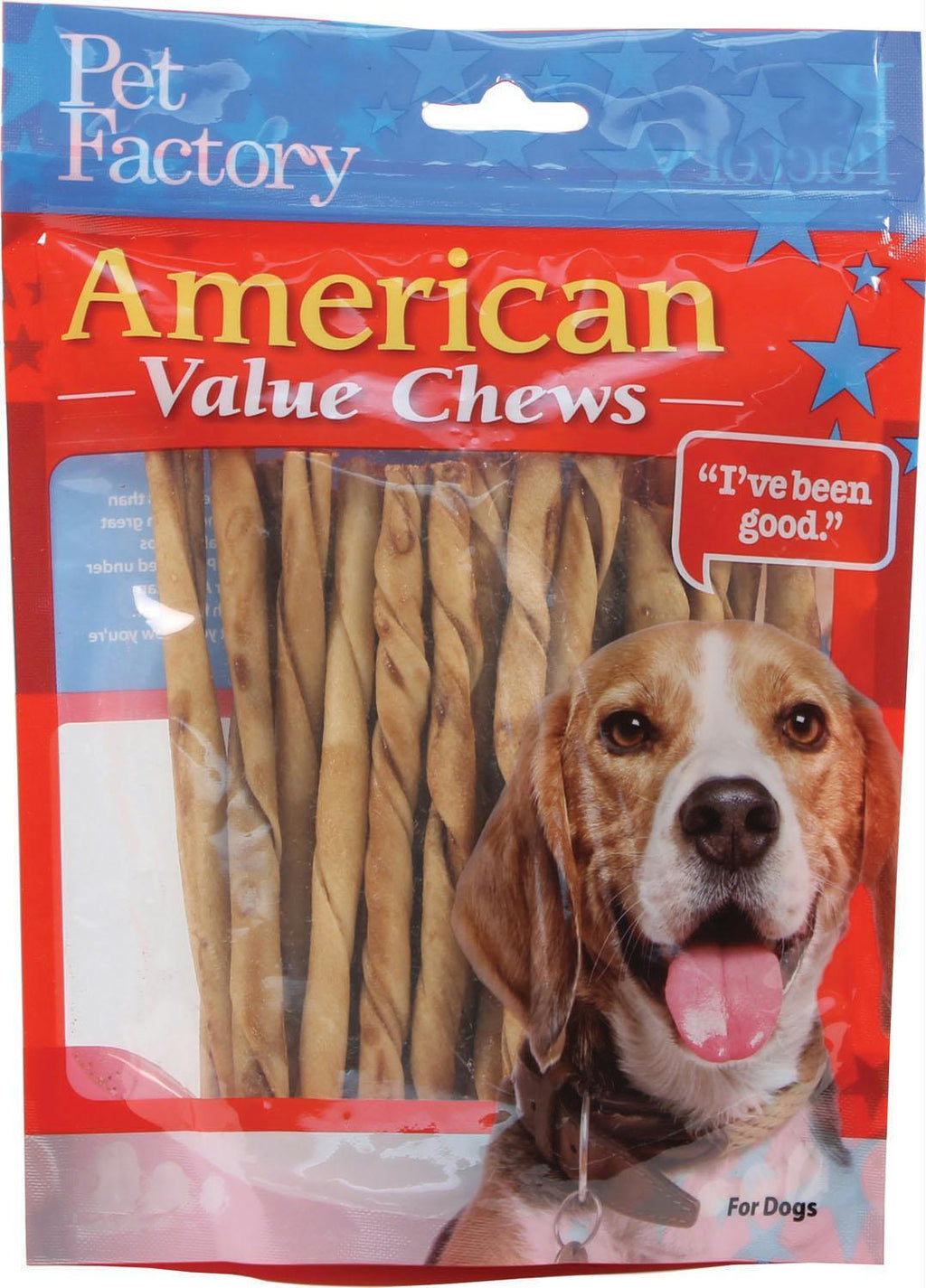 American Beefhide Twist Sticks Value Pack
