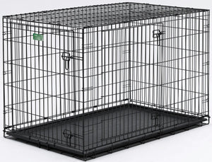 "Midwest iCrate Double Door Dog Crate 36""L x 23""W x 25""H"